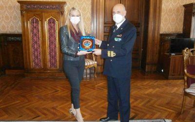 Incontro con Direttore Generale per il Personale Militare, Ammiraglio Pietro Ricca