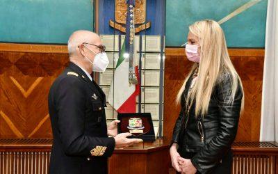 Incontro con Capo di Stato Maggiore Aeronautica, Gen. Alberto Rosso