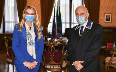 Incontro con Presidente Associazione Nazionale Marinai d'Italia, Amm Pierluigi Rosati