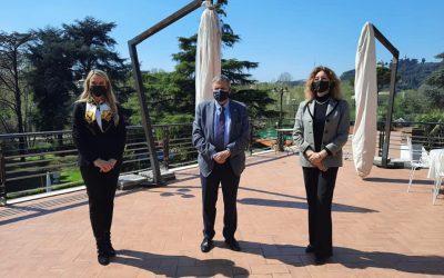 Visita presso la Lega Navale Italiana con Ministro Stefani