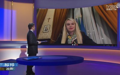 Intervista per TGtg su Tv2000