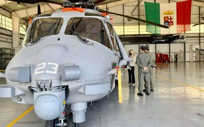 Visita presso la Stazione Aeromobili Marina Militare di Grottaglie