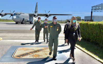 Visita alla 46ª Brigata Aerea di Pisa