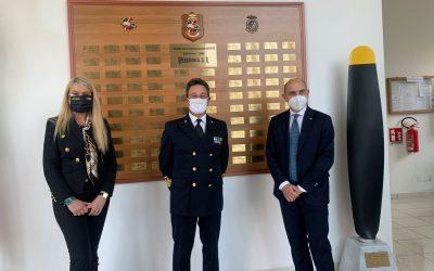 Visita presso Base Aeromobili Guardia Costiera di Sarzana-Luni