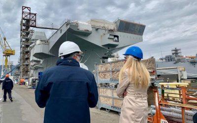 Visita presso il Cantiere navale del Muggiano