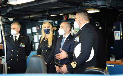 A bordo di nave Fasan