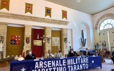 Visita all'Arsenale Militare di Taranto