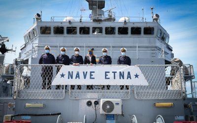 A bordo di Nave Etna