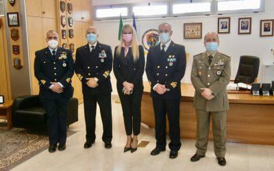 Visita presso il Comando per le Operazioni in Rete della Difesa