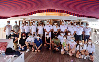 A bordo di Nave Italia con il Ministro Erika Stefani