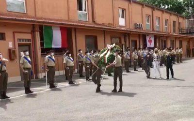 Celebrazione dei Corpi della Croce Rossa Italiana