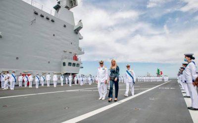 Cerimonia di avvicendamento alla carica di Comandante in Capo della Squadra navale