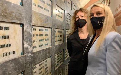 Con i Ministro Erika Stefani a Schio