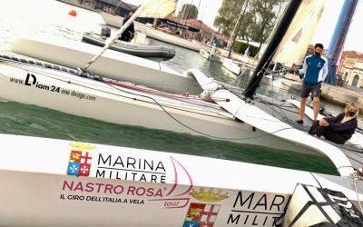 Ultima tappa del Nastro Rosa Tour a Venezia