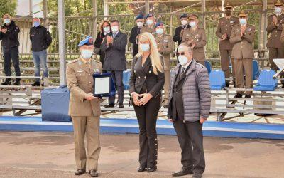 Cerimonia di consegna targa di riconoscimento per 2° reggimento di Sostegno Aviazione dell'Esercito 'ORIONE'