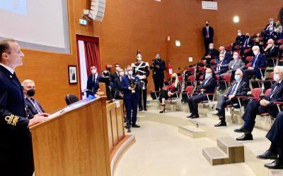 Cerimonia di Apertura dell'Anno Accademico 2021/22 del Centro Alti Studi per la Difesa e degli Istituti di formazione della Difesa, alla presenza del Presidente della Repubblica e del Ministro della Difesa