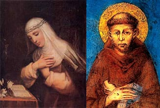 San Francesco e Santa Caterina Patroni d'Italia